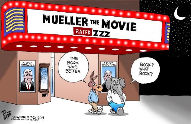 Bruce Plante Cartoons: Mueller the Movie