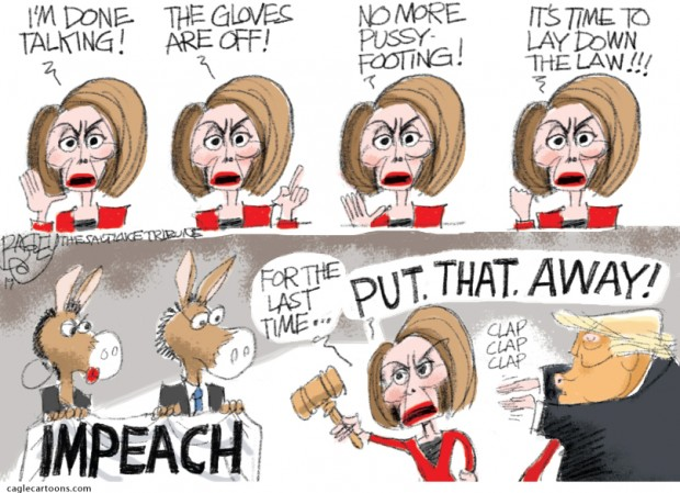 4_political_cartoon_u.s._nancy_pelosi_reluctance_to_impeach_tough_talking_-_pat_bagley_cagle