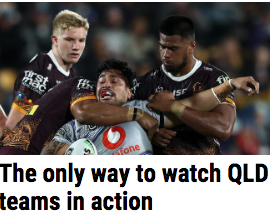 Qld footy watch