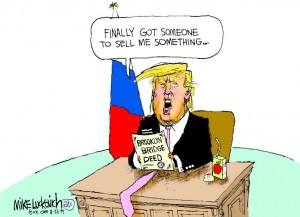 17_political_cartoon_u.s._trump_greenland_buying_brooklyn_bridge_scam_conned_-_mike_luckovich_creators