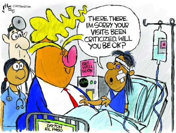 22_political_cartoon_u.s._trump_visiting_shooting_victim_criticism_-_clay_jones_0