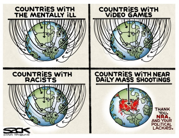7_political_cartoon_u.s._countries_with_mental_illness_racism_and_video_games_but_no_shootings_-_steve_sack_cagle