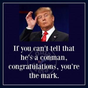 Trump conman mark