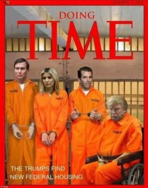 Trumps in jail Time