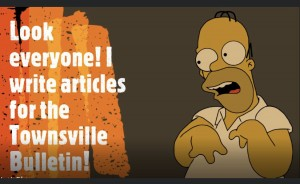 Homer writes for the BulletinMG_7615