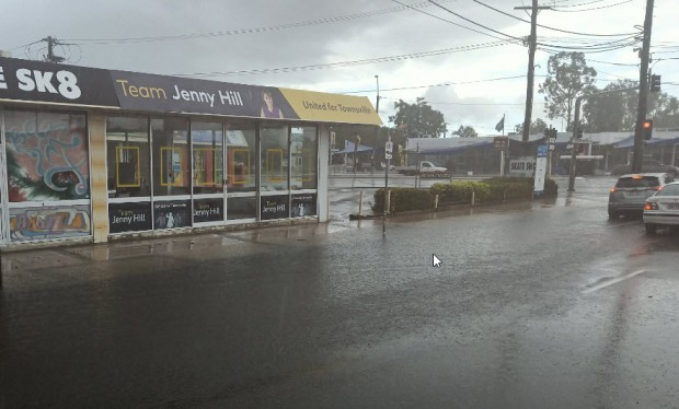 Mullet office flooded road charlotte and rrr mundam