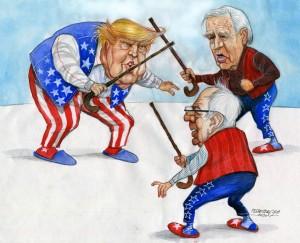 karikatur für titelseite-oldies