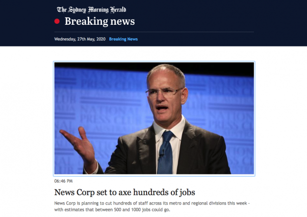 News Ltd sackings020-05-27 at 7.43.25 pm