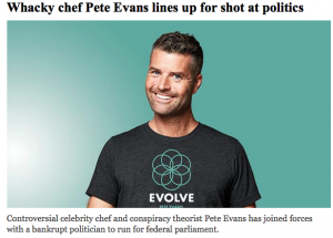 Pete Evans Into Politoics Screen Shot 2021-02-12 at 1.08.42 pm